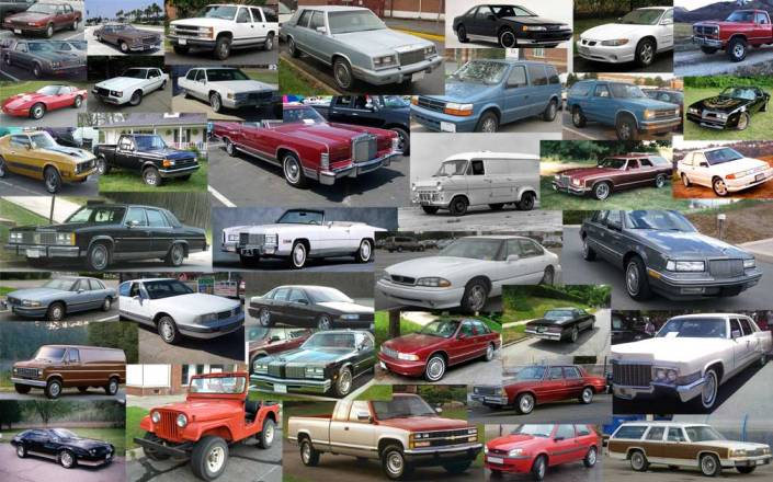 americas-longest-produced-nameplates-cars-collage