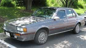 cadillac cimarron ugliest cars