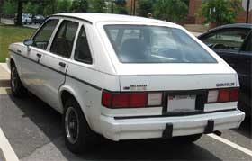 chevrolet chevette ugly car