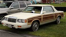 chrysler lebaron ugly car