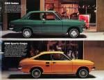 Datsun 1200 sedan and 1200 sports coupe press photos from Datsun 1200 brochure