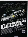 "1980 Datsun 200sx classic ad ""It's got performance down to a science."""