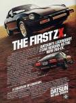 "1970 Datsun 280zx vintage ad ""The first ZX. Datsun's legendary Z car reborn as the new 280-ZX."""