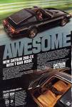 "Datsun 280zx classic ad ""AWESOME. New Datsun 280-ZX with T-bar roof."""