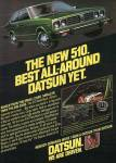 "1978 Datsun 510 old advertisement ""The new 510. Best all-around Datsun yet."""