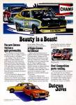 "1975 Datsun 710 vintage ad ""Beauty is a Beast! The new Datsun 710 has a split personality."""