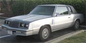 Dodge 600 ugliest cars