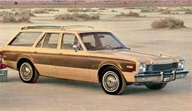 The poor Dodge Aspen was a rare example of wood paneling actually improving the look of a car