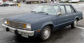 Ford Fairmont ugliest cars