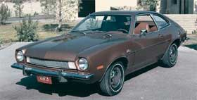 ford pinto ugliest cars