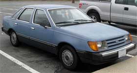 Ford Tempo Mercury Topaz ugly car
