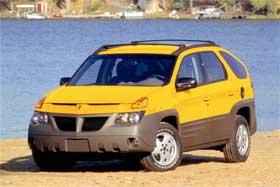 pontiac aztek ugliest car